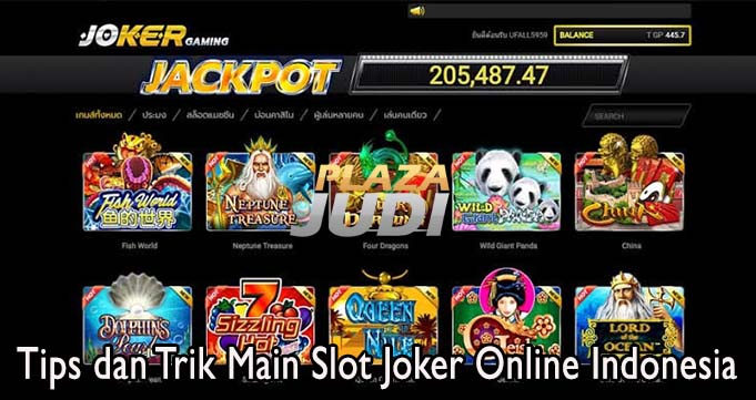 Tips dan Trik Main Slot Joker Online Indonesia